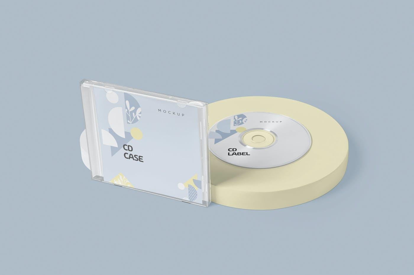 古典音乐CD标签和包装盒样机模版素材9GZQ7EC插图(6)