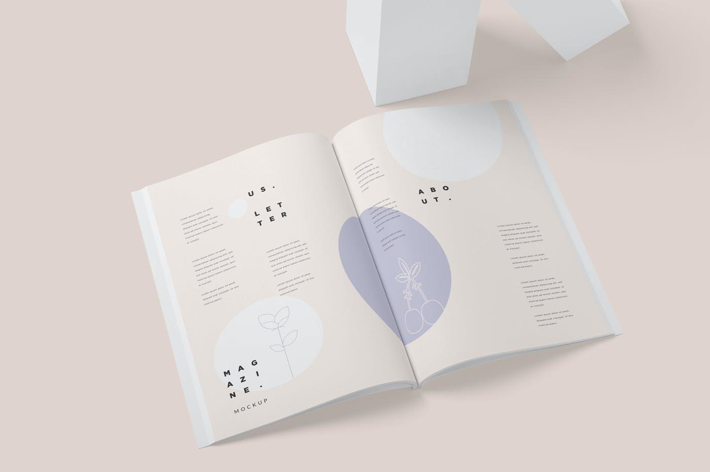 画册尺寸杂志样机素材下载GERAG49插图(3)