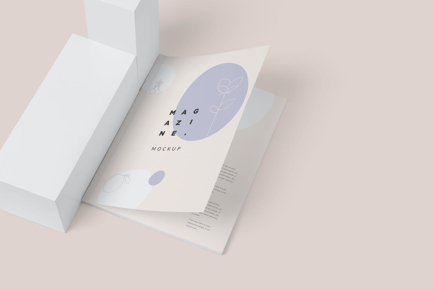 画册尺寸杂志样机素材下载GERAG49插图(4)