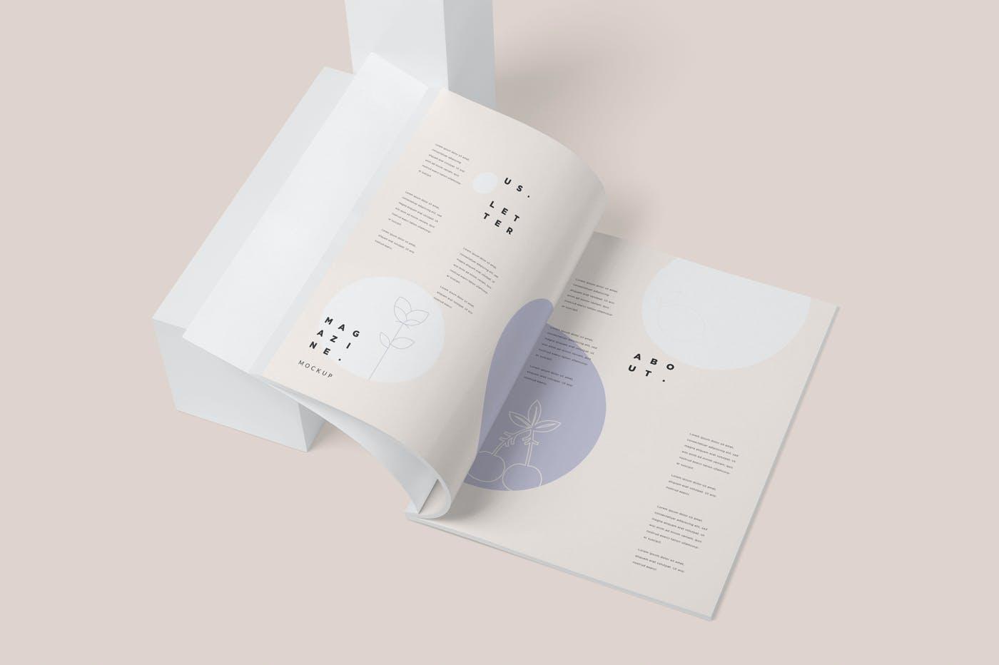 画册尺寸杂志样机素材下载GERAG49插图(5)
