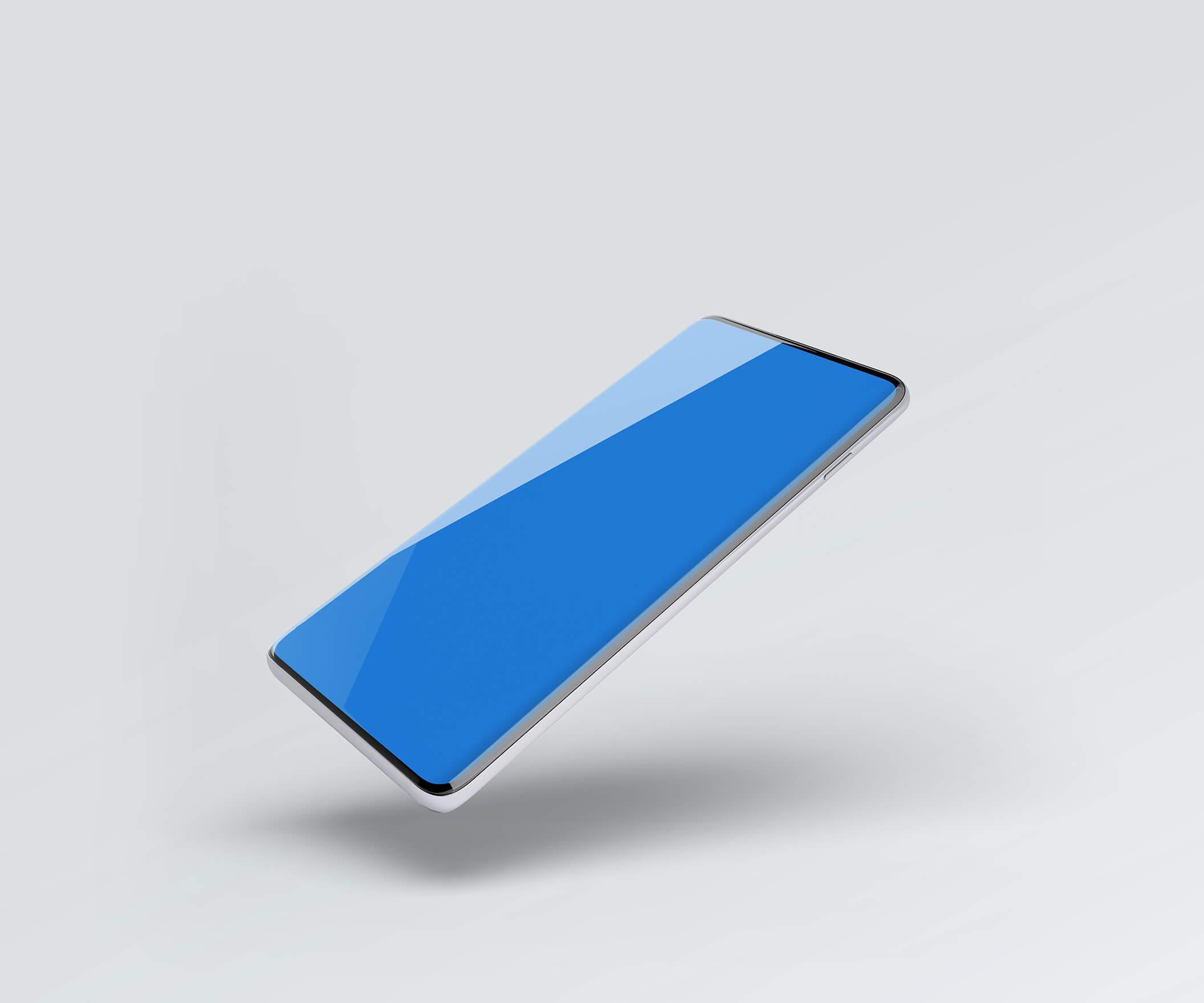 三星Galaxy S10最小电话样机套件模版素材Minimal Phones Mockup Kit插图(10)