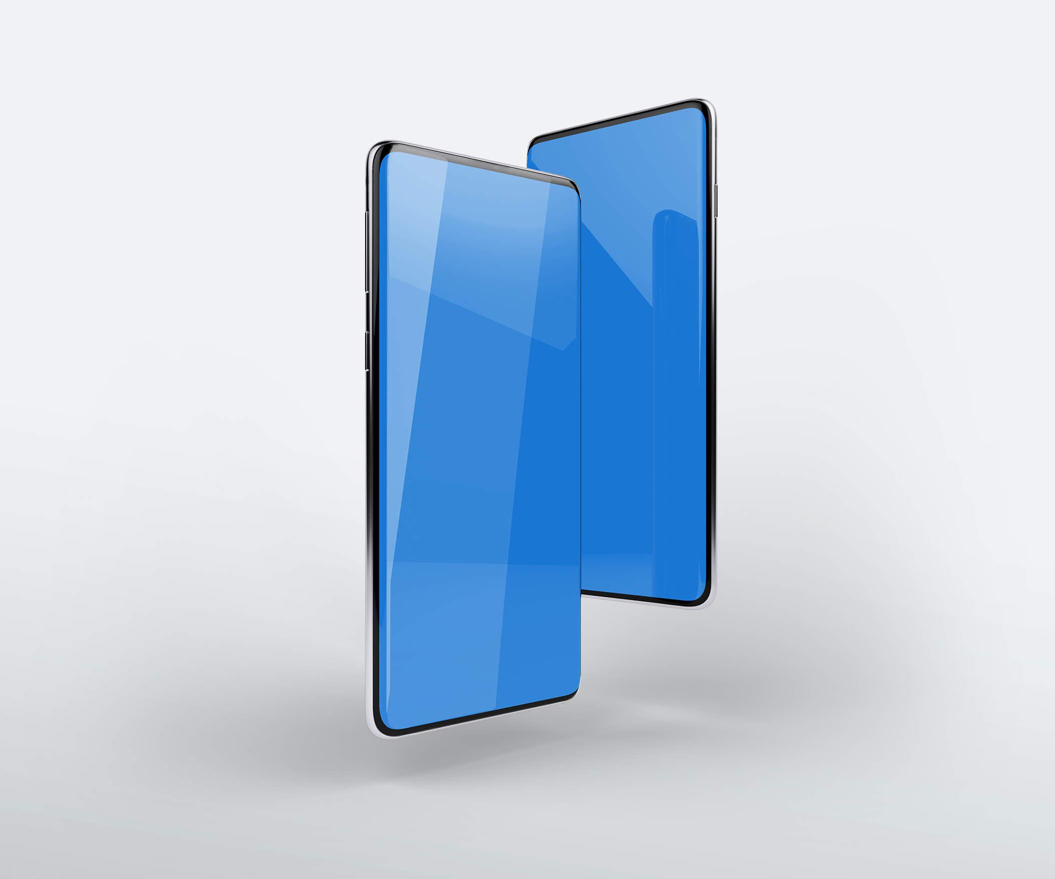 三星Galaxy S10最小电话样机套件模版素材Minimal Phones Mockup Kit插图(11)