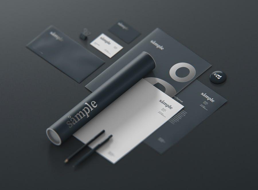 文具品牌样机创造者样机模版素材下载DE9TAT插图(7)
