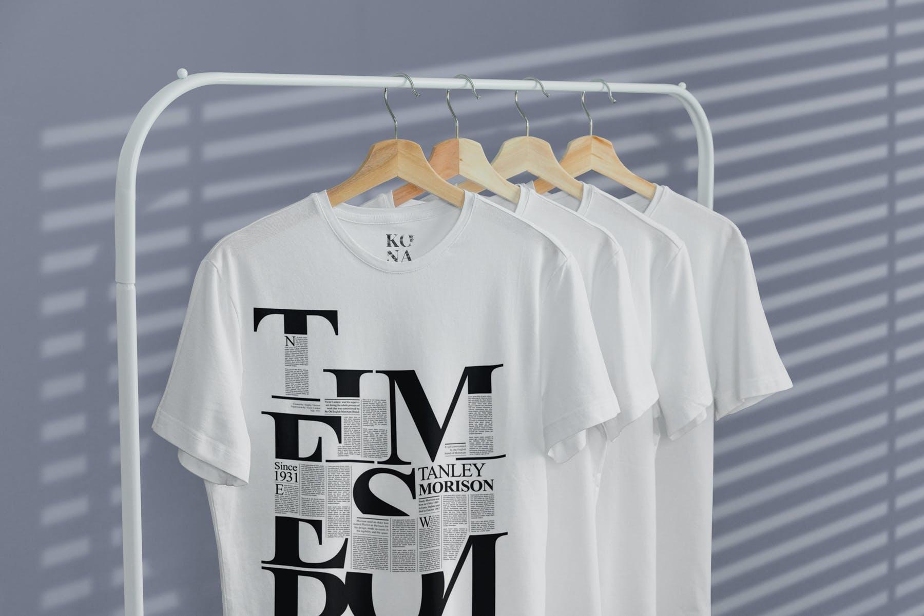 简约衣架T恤样机模型素材下载EG7YRL5插图(4)