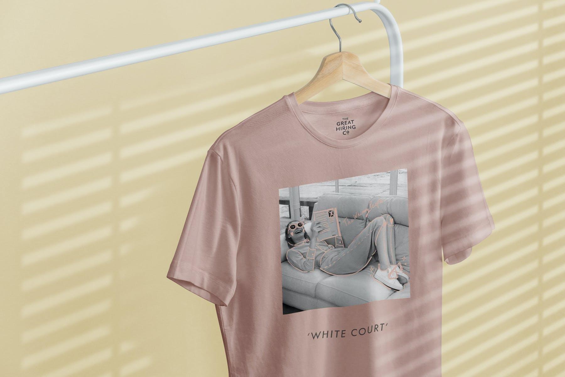 简约衣架T恤样机模型素材下载EG7YRL5插图(7)
