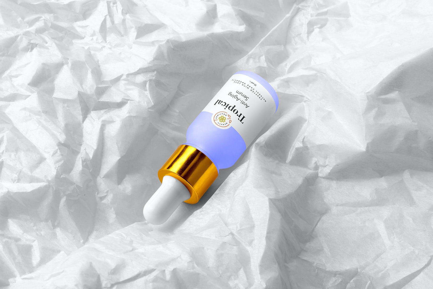 滴管样式热带化妆品品牌样机VEZXF4K插图(6)