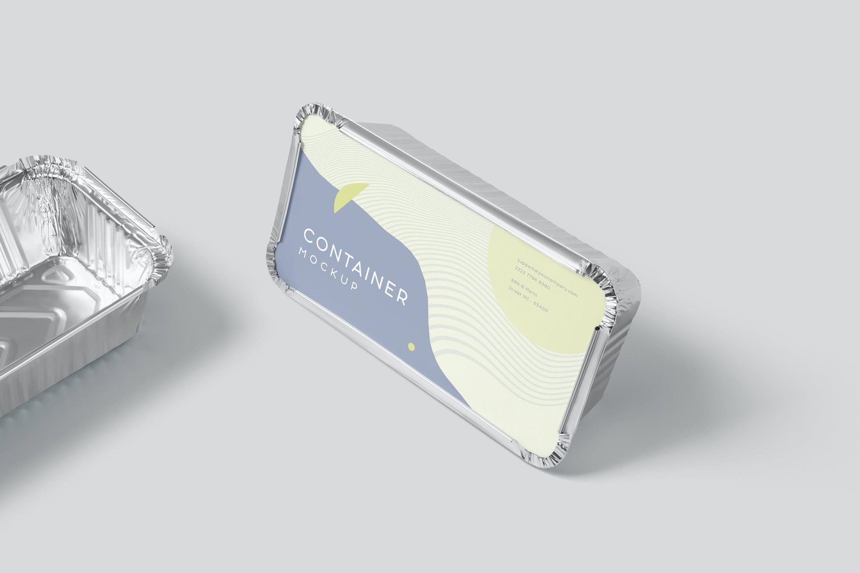 铝箔包装食品盒样机52Q4737插图