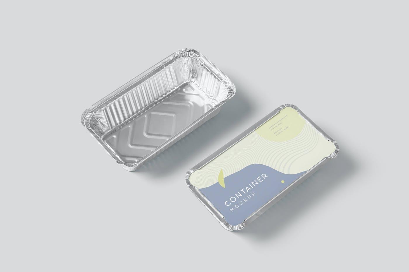 铝箔包装食品盒样机52Q4737插图(3)