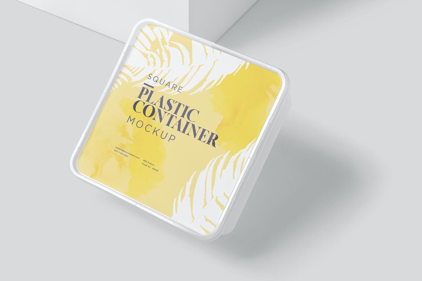 方形透明塑料容器模型样机素材6TQGY3E插图(5)